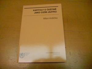 Kapitoly o češtině jako cizím jazyku